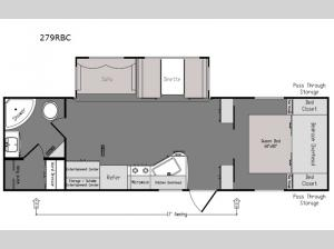 Intrepid 279RBC Floorplan Image