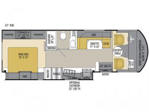 Pursuit 27 KB Floorplan Image