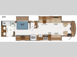 Discovery LXE 40M Floorplan Image