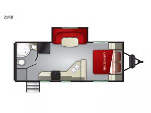 Fun Finder 21RB Floorplan Image