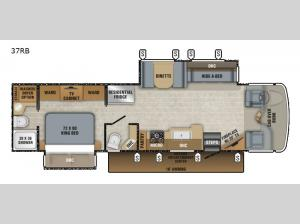 Seneca 37RB Floorplan Image