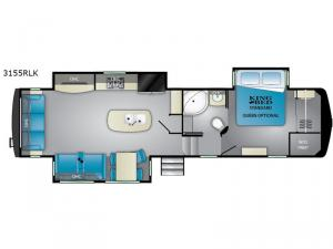 Big Country 3155 RLK Floorplan Image