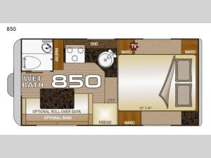 Wolf Creek 850 Floorplan Image