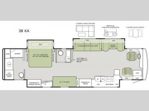 Allegro RED 38 KA Floorplan Image