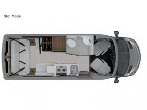 Interstate Nineteen Std. Model Floorplan Image