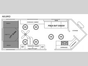 Glacier Ice House A818RD Floorplan Image