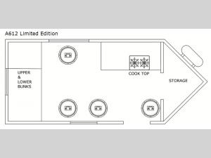 Glacier Ice House A612 Limited Edition Floorplan Image