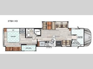FORCE HD 37BH HD Floorplan Image