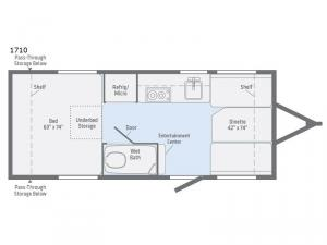 Minnie Drop 1710 Floorplan Image