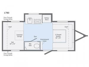 Minnie Drop 1780 Floorplan Image
