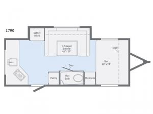 Minnie Drop 1790 Floorplan Image