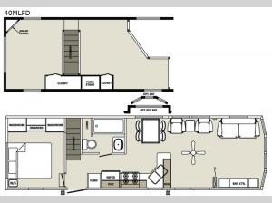 Quailridge 40MLFD Loft Floorplan Image