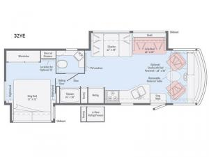 Sunstar 32YE Floorplan Image