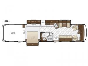Canyon Star 3921 Floorplan Image