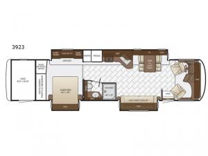 Canyon Star 3923 Floorplan Image
