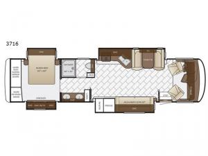 Canyon Star 3716 Floorplan Image