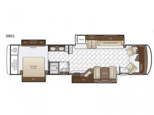 Canyon Star 3901 Floorplan Image