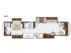 Canyon Star 3926 Floorplan Image