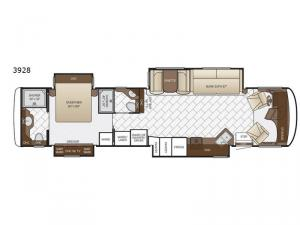 Canyon Star 3928 Floorplan Image