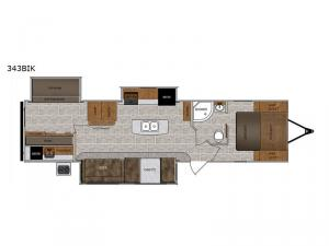 Wildcat 343BIK Floorplan Image