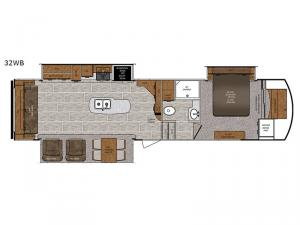 Wildcat 32WB Floorplan Image