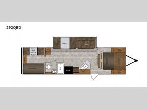 Wildcat 292QBD Floorplan Image