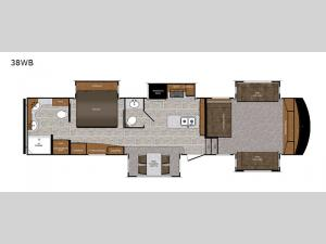 Wildcat 38WB Floorplan Image