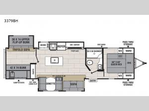 Northern Spirit Ultra Lite 3379BH Floorplan Image