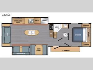 BX Series 320RLS Floorplan Image
