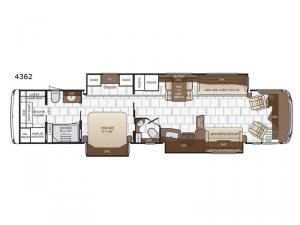 Dutch Star 4362 Floorplan Image