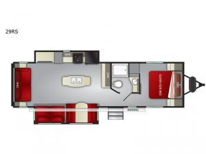 Fun Finder XTREME LITE 29RS Floorplan Image