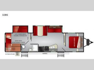 Fun Finder XTREME LITE 32BS Floorplan Image