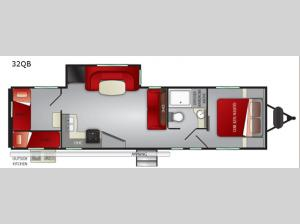 Fun Finder XTREME LITE 32QB Floorplan Image