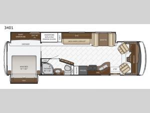 Bay Star 3401 Floorplan Image