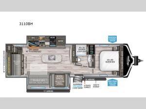 Imagine 3110BH Floorplan Image