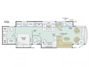 Grand Tour 42QL Floorplan Image