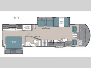 Pursuit 31TS Floorplan Image