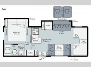 Outlook 26M Floorplan Image