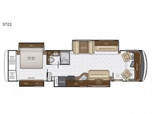 Canyon Star 3722 Floorplan Image
