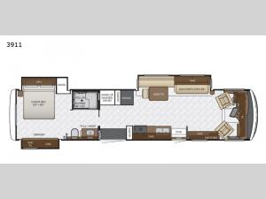 Canyon Star 3911 Floorplan Image
