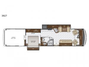 Canyon Star 3927 Floorplan Image