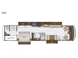 Canyon Star 3929 Floorplan Image