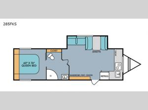 Retro 285FKS Floorplan Image