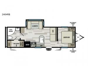 Sonoma 2404RB Floorplan Image