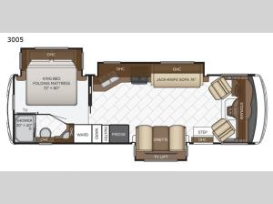 Bay Star 3005 Floorplan Image