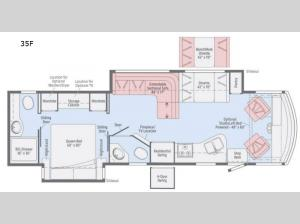 Sunstar LX 35F Floorplan Image