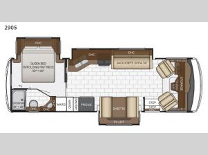 Bay Star Sport 2905 Floorplan Image