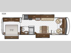 Bay Star Sport 3226 Floorplan Image