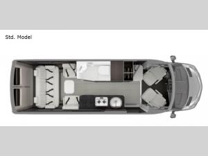 Interstate 24GT Std. Model Floorplan Image