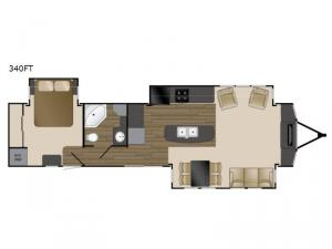 Lakeview 340FT Floorplan Image